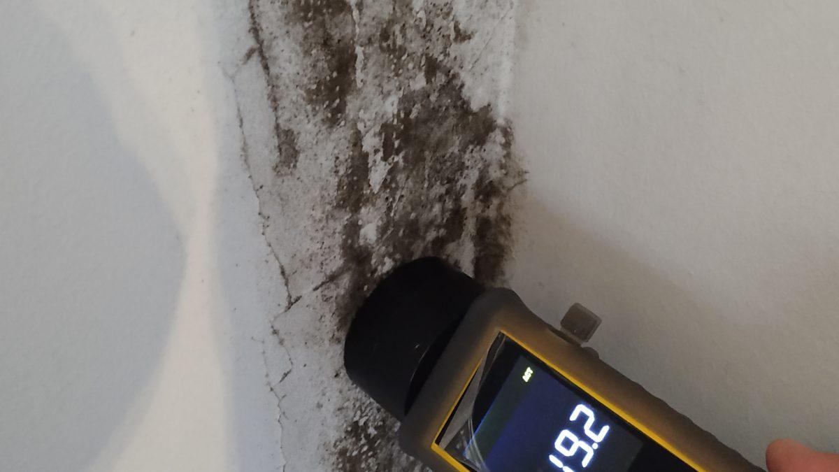 Misurazione umidità nei muri
