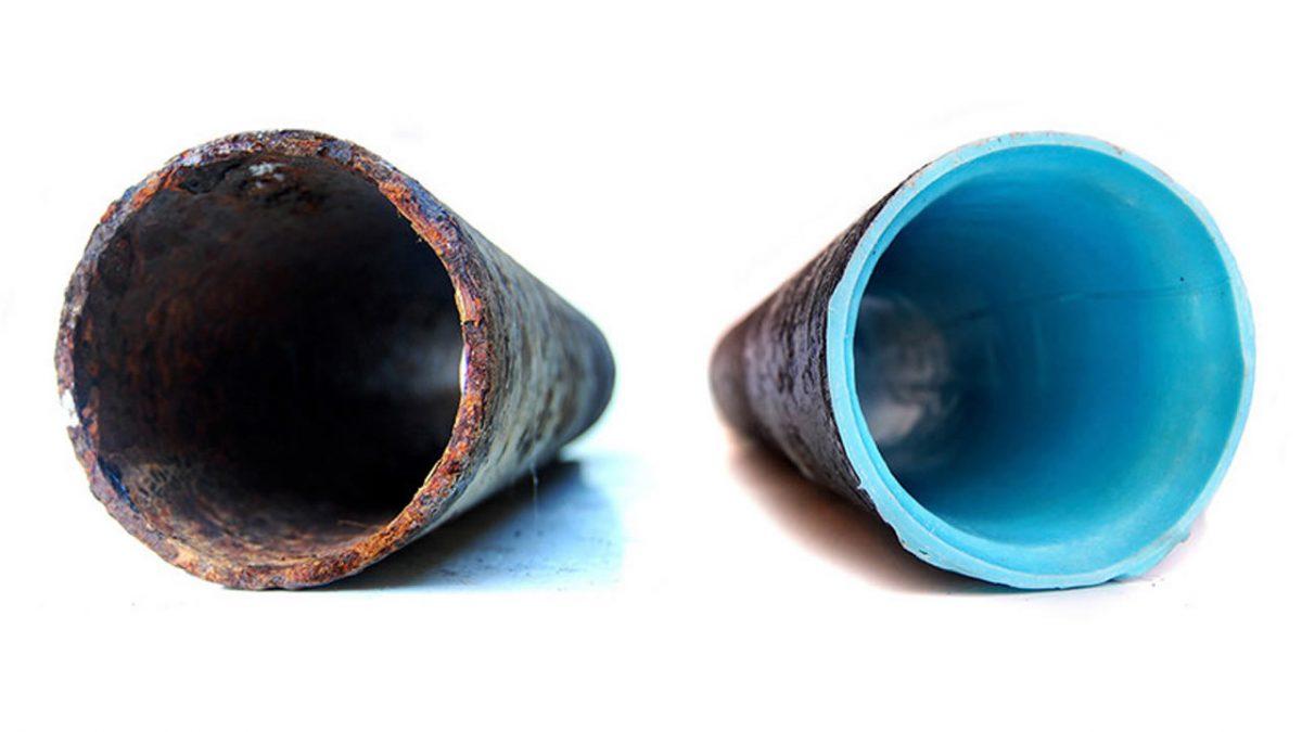 Riparazione tubi dall'interno senza rompere