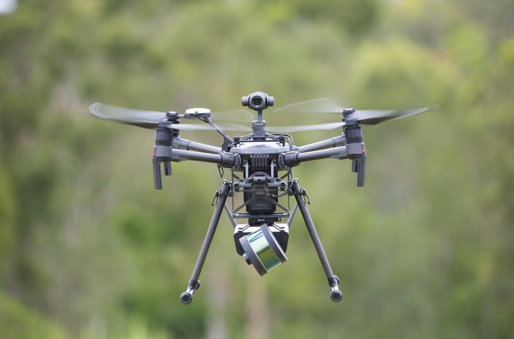 Rilievi fotogrammetrici con drone