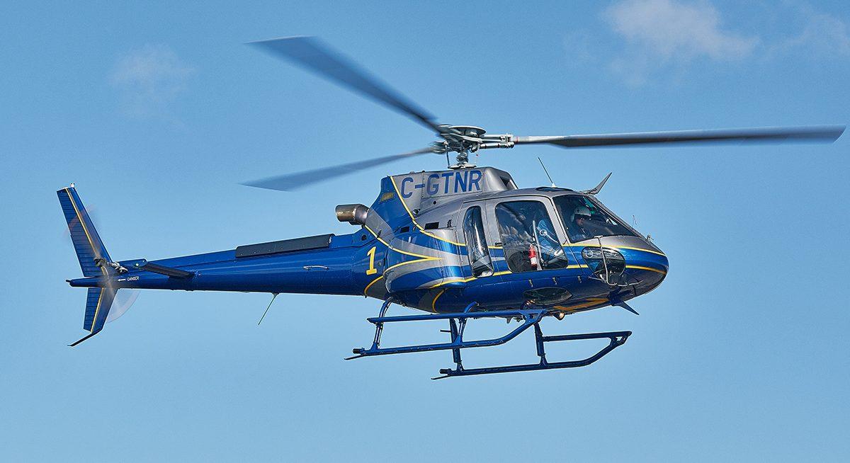 Ispezioni termografiche aeree da elicottero