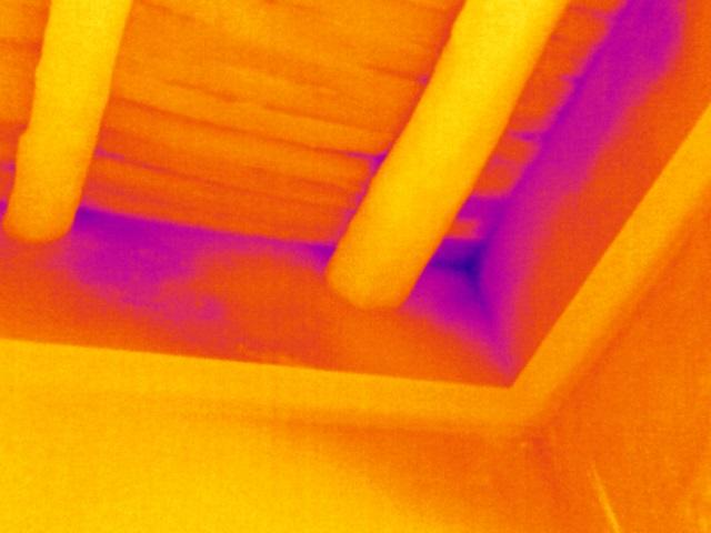 Ricerca infiltrazioni aria negli edifici