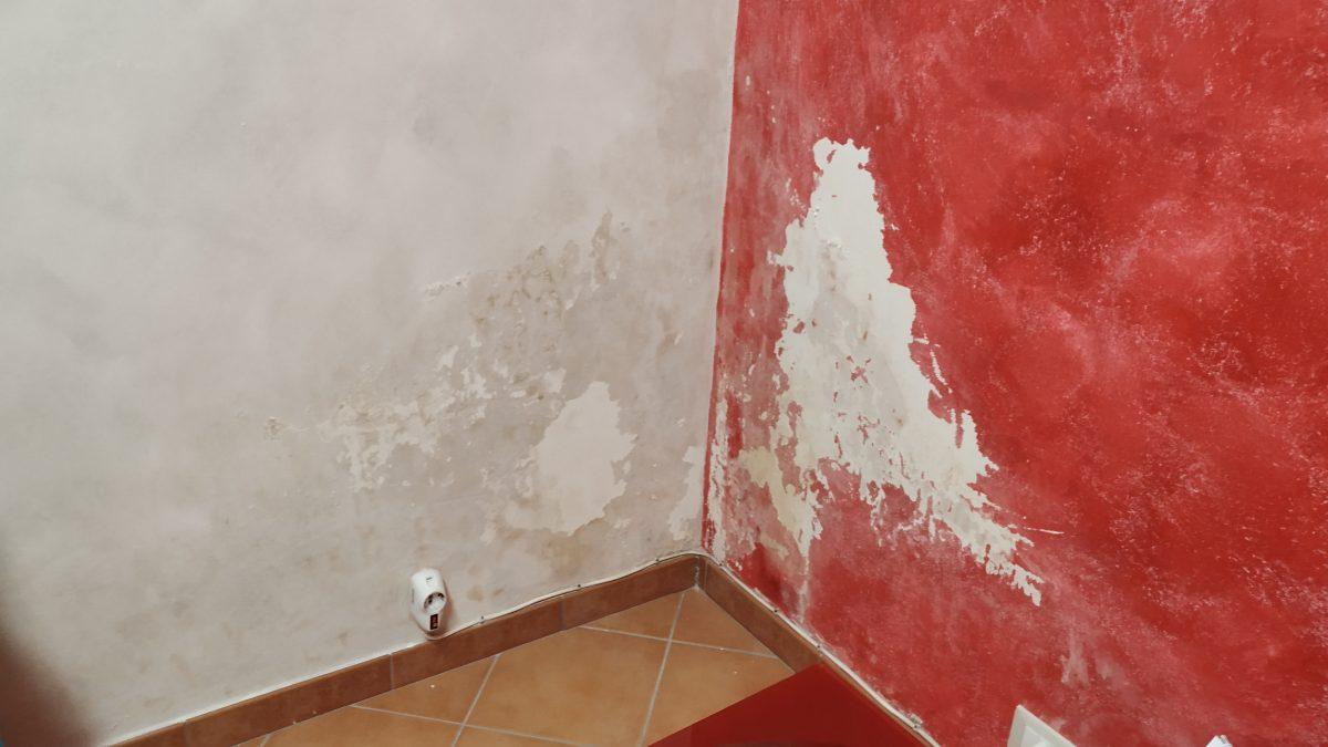 Monitoraggio dell'umidità sui muri