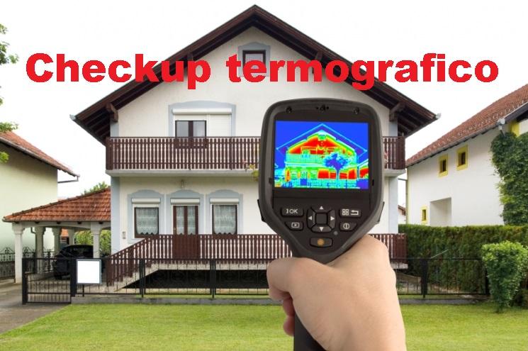 Checkup termografico di un immobile