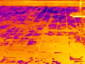 Ricerca infiltrazioni terrazzi - termografia